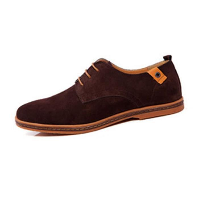 SIMPVALE Mocassins Suede Classic Oxford Cuir Chaussure Homme 9yDfHsuBS