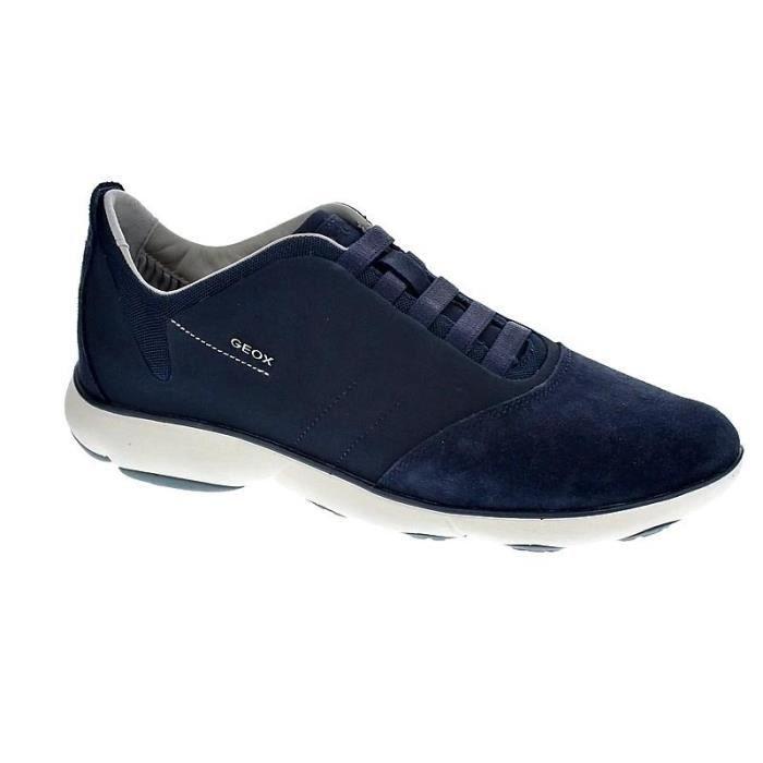 Chaussures Geox Homme avec lacet modèle Nebula Bleu Bleu
