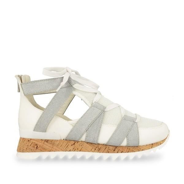 Gioseppo - Karlie chaussures blanc, argent