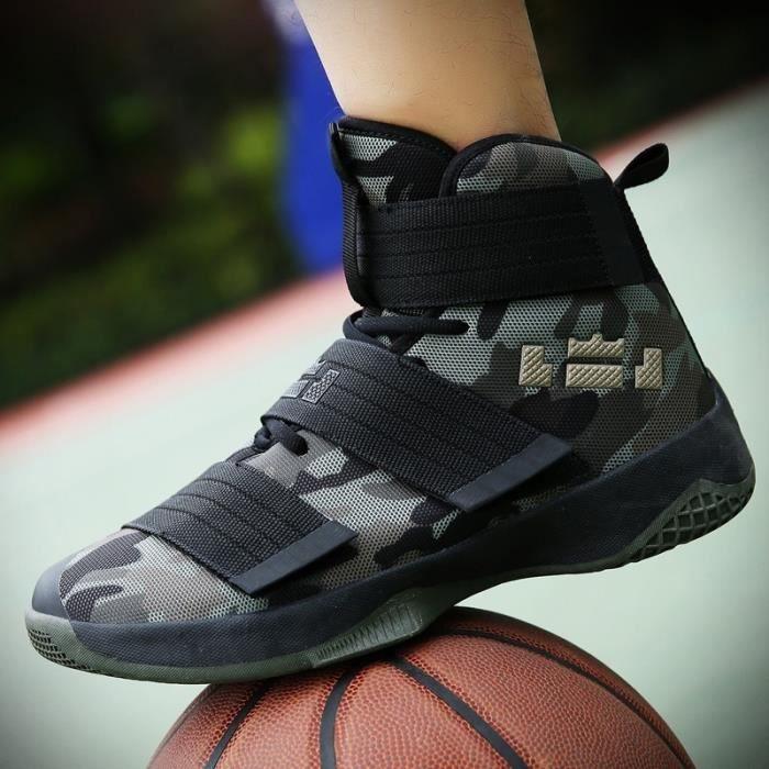 Basket Jaune 45 Mode Basketball Casual Shoes et des couples Taille Antidérapante Semelle en caoutchouc (36-45)
