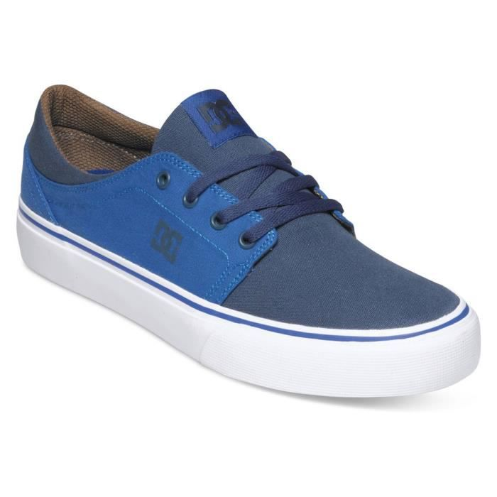 DC SHOES Trase Tx Chaussure Homme - Taille 42.5 - BLEU