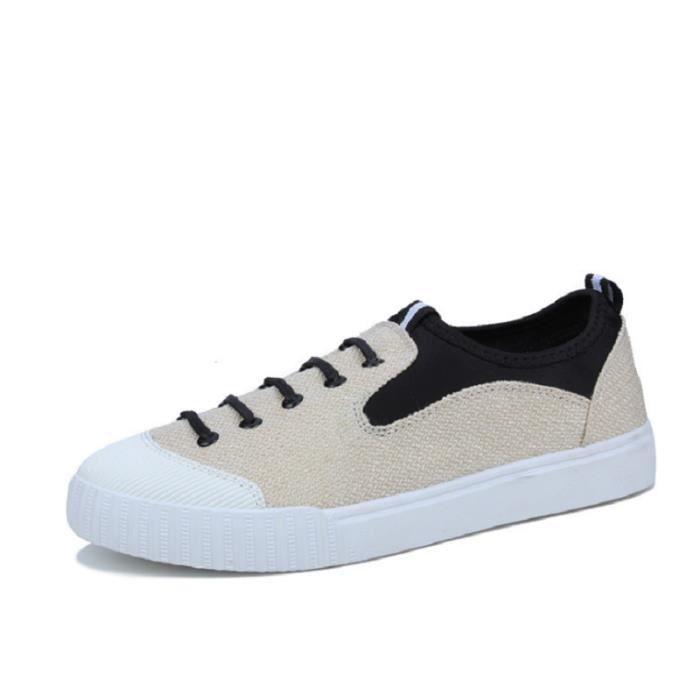 le Pierre Logo Chaussures De Sport En Maille - Blanc RTARr
