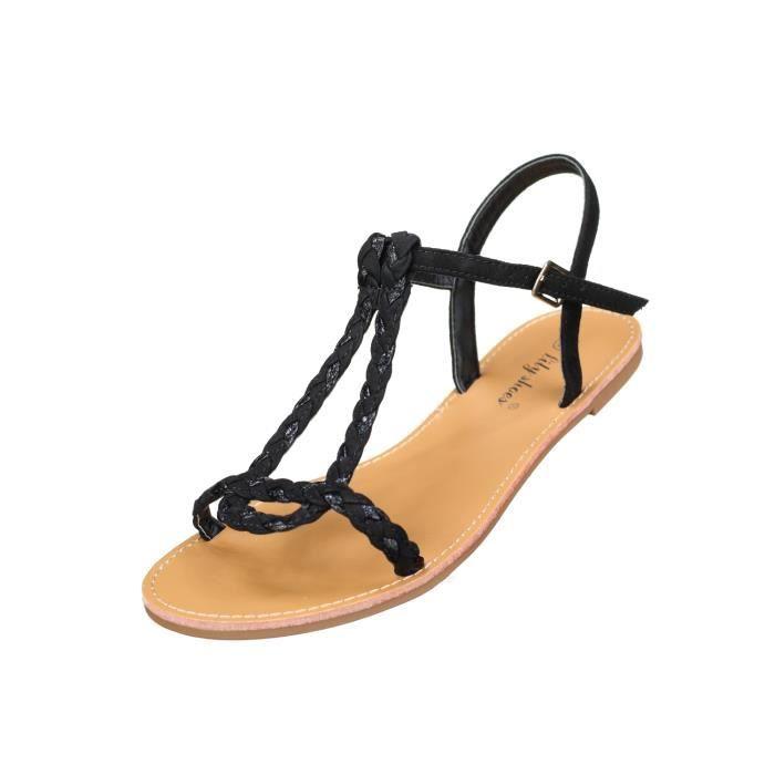 Sandales femme Lily shoes L901 Black