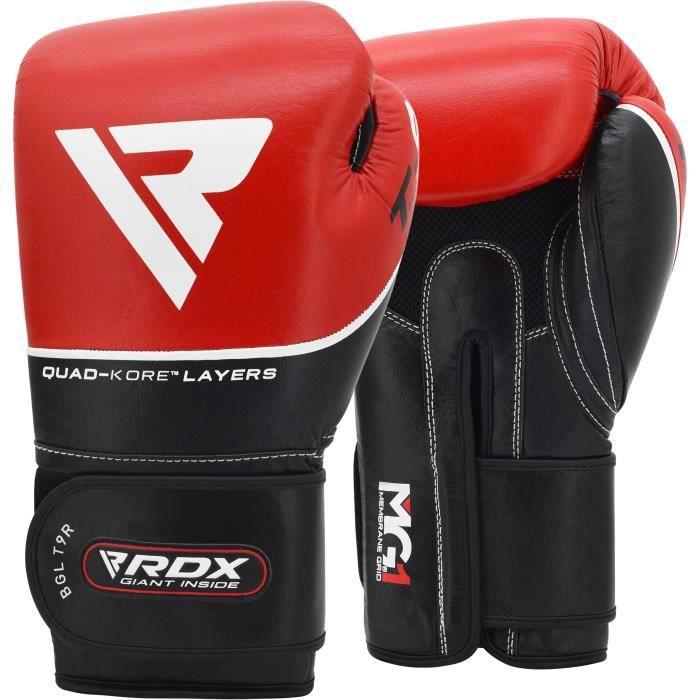 Frappe Rdx Sac Muay Gant Thai Gants Kickboxing Vachette De Cuir Boxe S1CHcrS