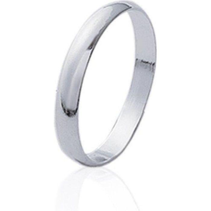 acheter populaire a4d20 a4120 Bague alliance fiançailles homme - argent 925 massif rhodié - anneau fin  simple