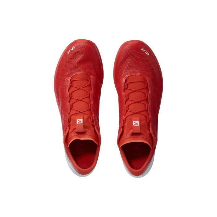 Chaussures Polyvalent Homme Slab Sense 7 Salomon Rouge