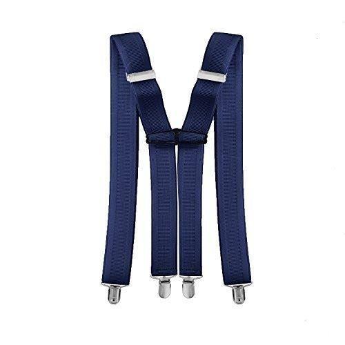 Hommes: accessoires 35mm Adulte Bretelles Pantalon à Clipser X Forme Arrière Hommes Élastique