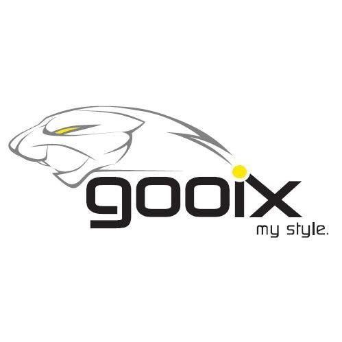 GOOIX - GOOIX 917-06489 Femmes Collier Sterling-Argent 925 Argent Bleu 47 cm Réf 67882