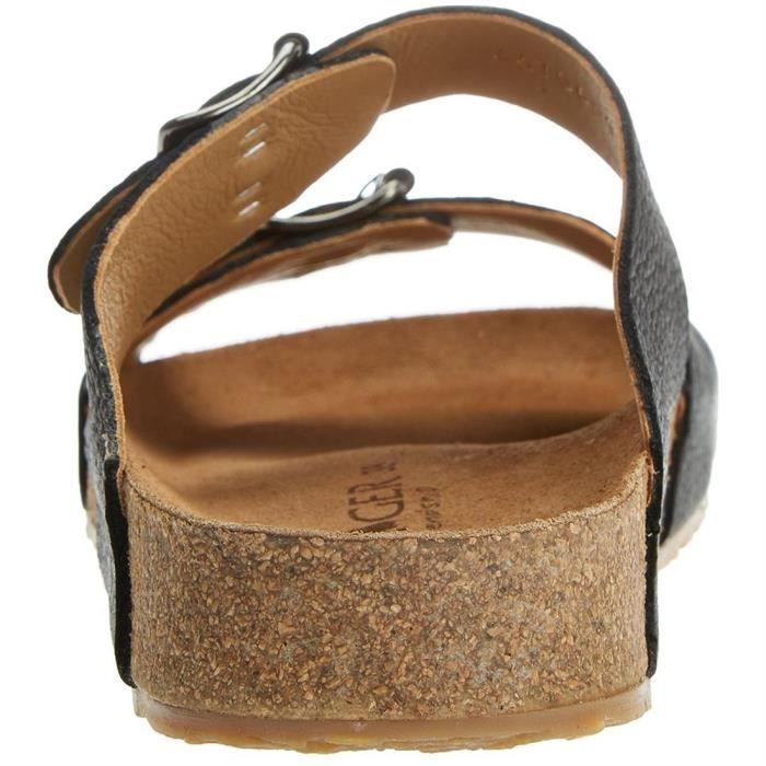 sandales/nu-pieds bio andrea homme haflinger 819016 42 Noir NZeG4j7g