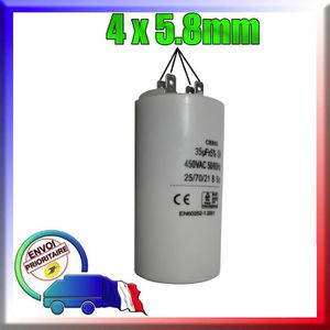 CONDENSATEUR Condensateur de démarrage de 35μF / uF moteur NEWB