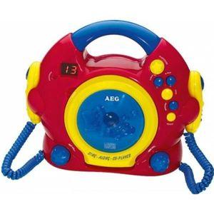 RADIO CD CASSETTE AEG CDK 4229 Karaoké pour enfants CD