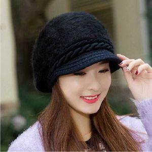 757a086add4ef CHAPEAU - BOB Chapeau d'hiver de fourrure de lapin chapeau femme