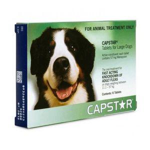 ANTIPARASITAIRE Capstar - 57 mg CHIEN Plus de 11 kg - 6 comprimés