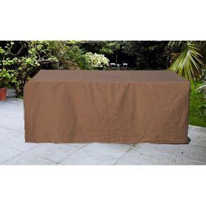 Housse table de jardin rectangulaire - Achat / Vente Housse table de ...