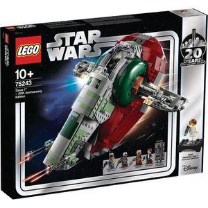 ASSEMBLAGE CONSTRUCTION LEGO Star Wars™ 75243 Slave l™ – Édition 20ème ann