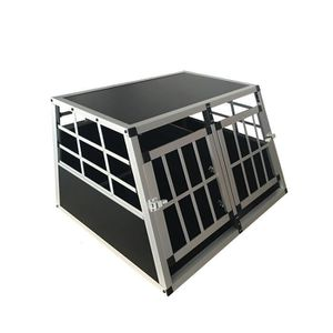 CAISSE DE TRANSPORT Cage Transport Chien Double Aluminium Large