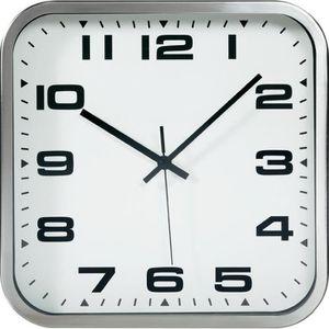 horloge murale carree achat vente horloge murale carree pas cher cdiscount. Black Bedroom Furniture Sets. Home Design Ideas