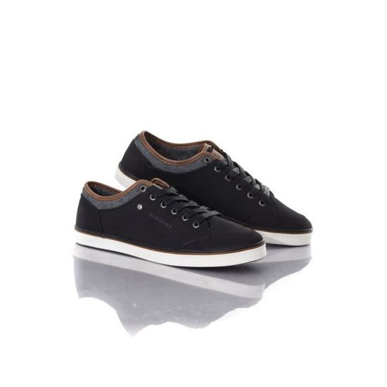 Noir Toile Galet Chaussures En Baskets Redskins YmbgyvIf76