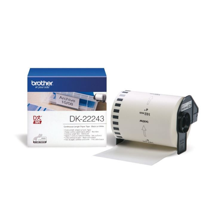 BROTHER Ruban papier P-TOUCH DK-22243