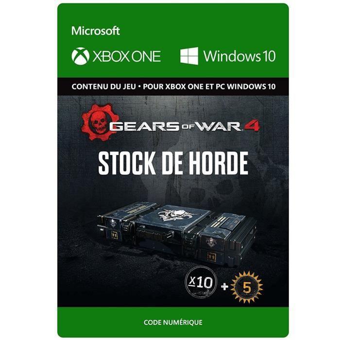 DLC Gears of War 4: Stock de Horde pour Xbox One et Windows 10