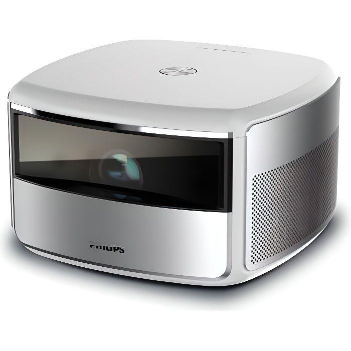 PHILIPS SCREENEO S6 Vidéoprojecteur 4K/HDR - 2000 LED Lumens - WiFi - Bluetooth - Haut-parleurs inté