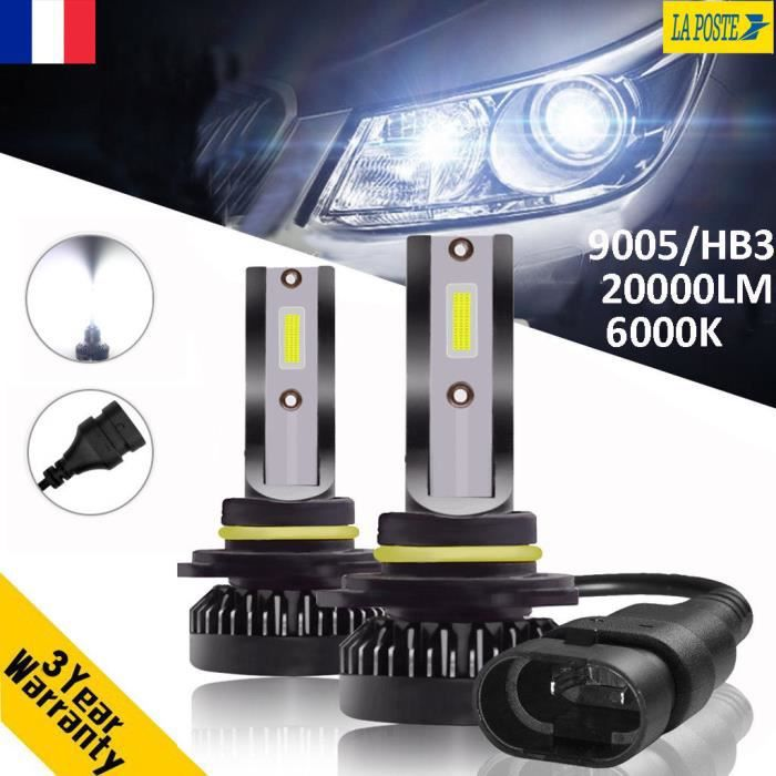 Kit Hid 20000lm Feux Lampe Phare Xénon Replace 9005 Ampoule Voiture Hb3 110w Led IE29DWH