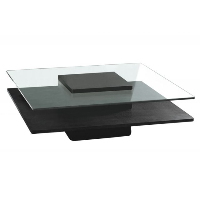 Table Basse Brenton Verre Wenge Achat Vente Table Basse Table