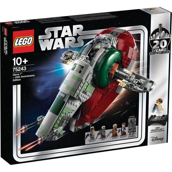 STAR WARS LEGO PRINCESS LEIA FAUCON PORTE-CLÉS TOUT NEUF V RARE