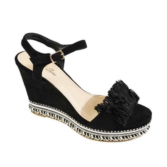 f79d783428c AVIFIA Sandale strass femme Gold - Achat   Vente sandale - nu-pieds ...