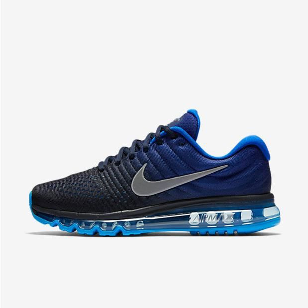 BASKET NIKE Air Max 2017 Running Shoes for Men Obsidian F