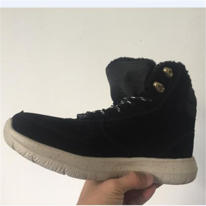 hommes Bottes de neige en plein air Imperméable Antidérapant Chaussure Plus de Coton Garder au chaud Mode Hiver Botte Taille 39-44