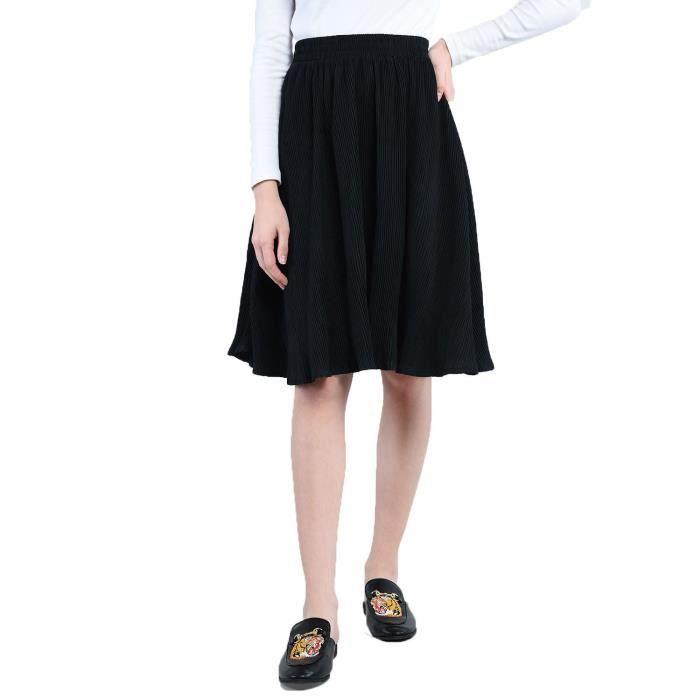 edf16da2682b6d Jupe plissée courte des femmes 1JC5G0 Taille-34