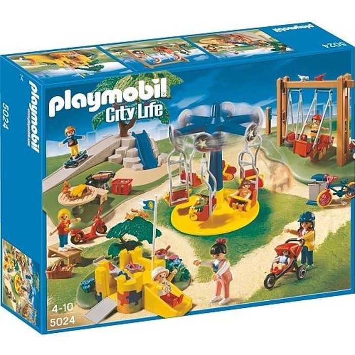 Playmobil - Grand jardin d\'enfants 5024 - Achat / Vente univers ...