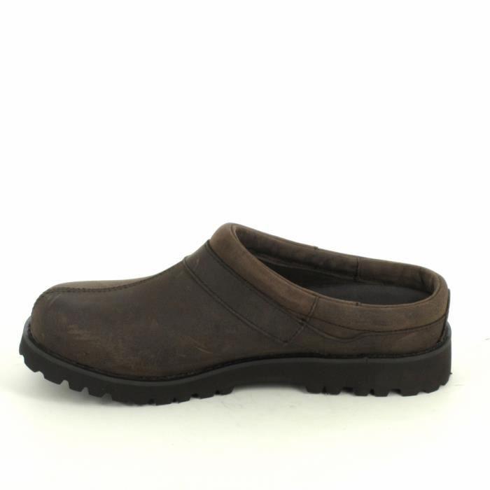 Nu pied et sandale AIGLE Guiren Marron xCdO5Xz24