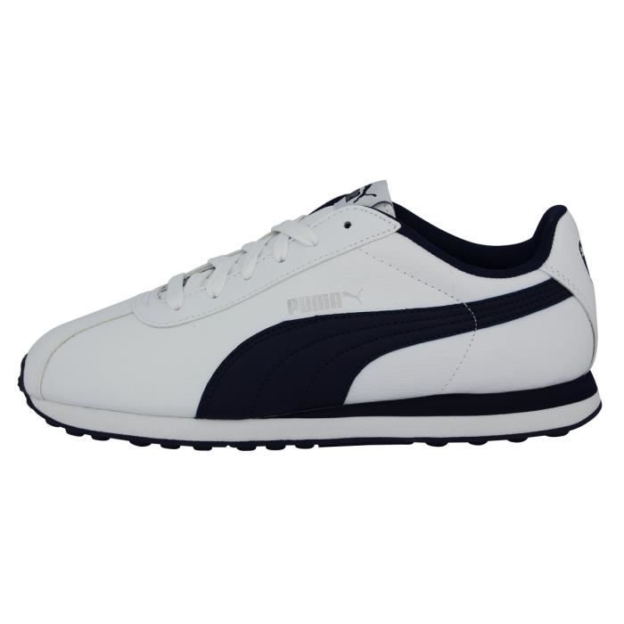 Puma TURIN Chaussures Mode Sneakers Homme Blanc sGxO3GIES