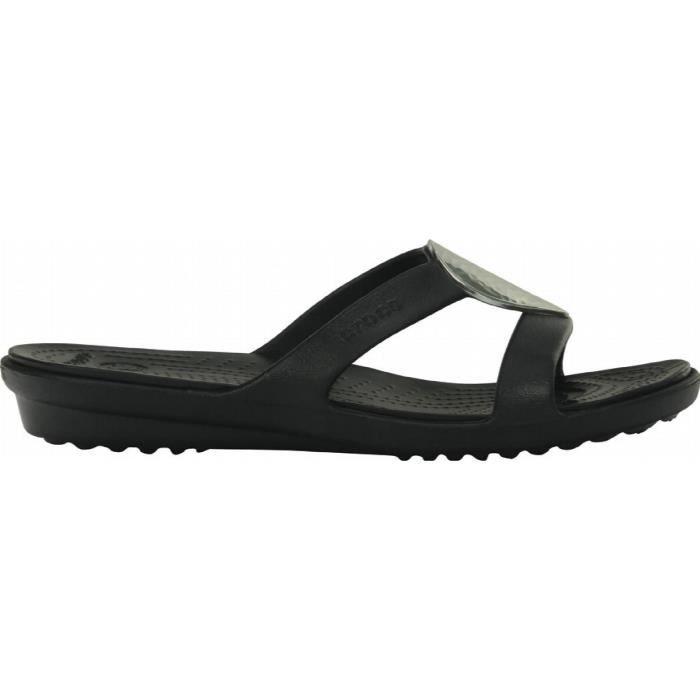 Crocs sanrah des femmes de sandales de coin embelli EFEPF