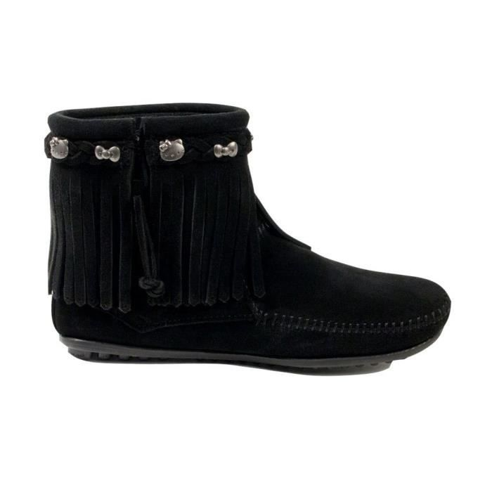 Womens Hello Kitty Fringe Boot ZTHY6 Taille-42