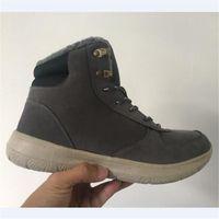 Chaussures Hommes Coton Hiver Bottes Anti-dérapant épais Neige Bottes ynZ8y8ecmA
