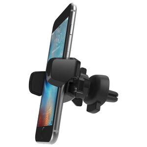 IOTTIE Support pour grille d'aération voiture pour smartphone - Noir