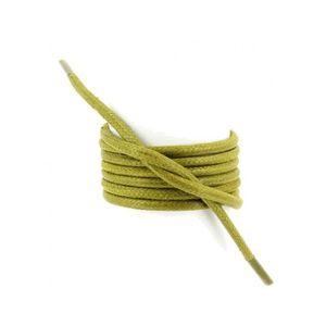LACET  lacets ronds épais 3mm coton ciré couleur vert col