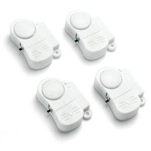 ALARME AUTONOME Pack de 4 mini alarmes pour porte/fenêtre