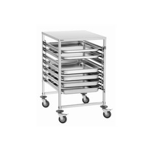 Chariot inox 2 plateaux achat vente chariot inox 2 for Chariot inox professionnel