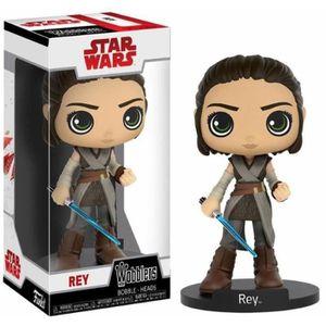 FIGURINE - PERSONNAGE Figurine Funko Wacky Wobblers Star Wars : Rey
