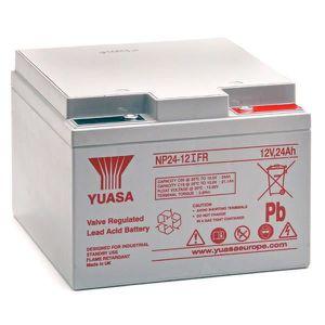 BATTERIE VÉHICULE Batterie plomb AGM NP24-12 IFR 12V 24Ah YUASA - Ba