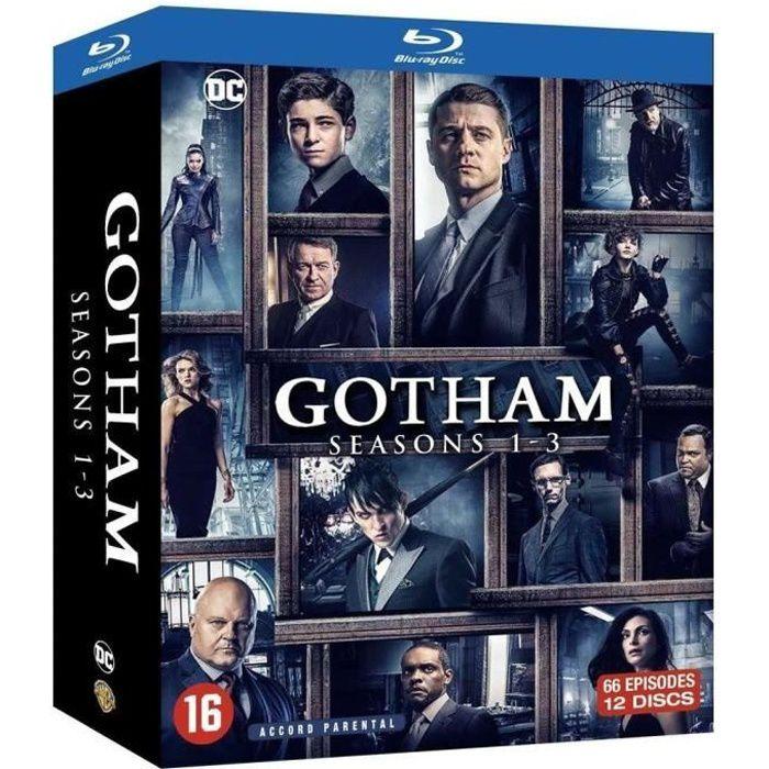 DVD SÉRIE Coffret Blu-ray Gotham saisons 1 à 3, 66 épisodes