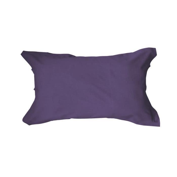 TODAY Taie d'oreiller américaine 50x70cm Deep purple