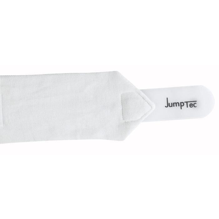 JUMPTEC Bandes de repos pour cheval - 4 m - Blanc