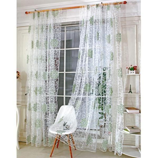 Moderne toiles fen tre rideaux pour salon qualit - Rideaux pour cuisine design ...