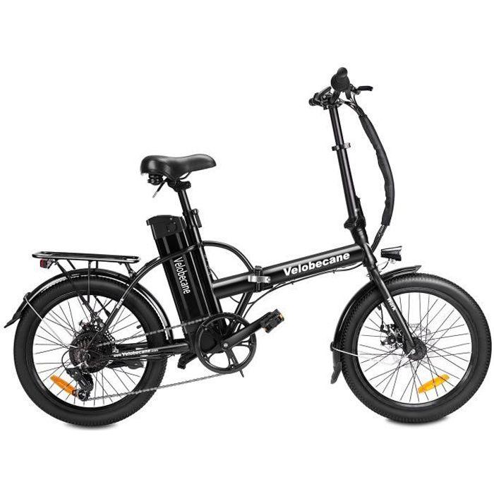 VÉLO ASSISTANCE ÉLEC VELOBECANE Vélo électrique Work - Noir