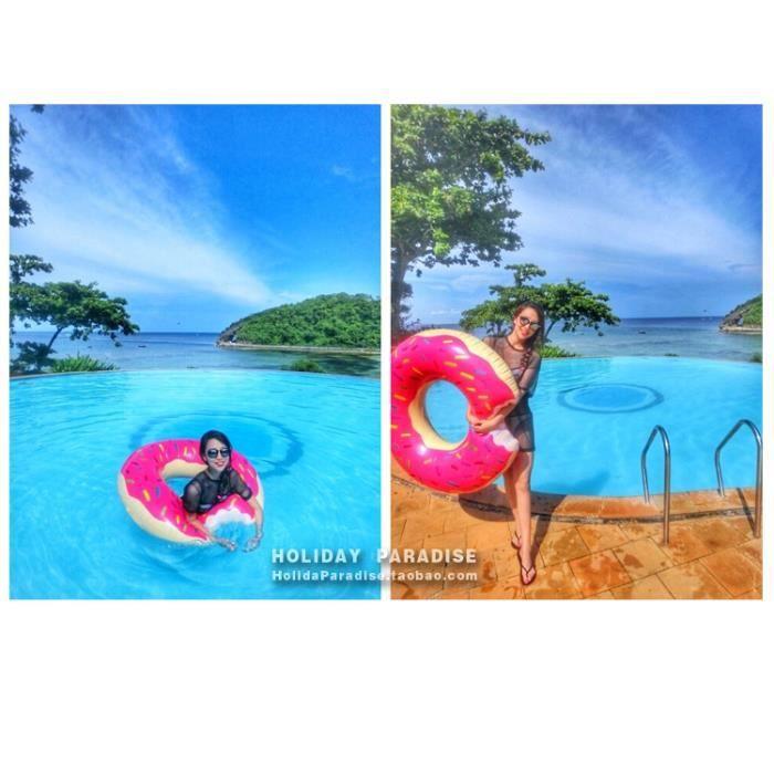 SIÈGE ÉLEVATEUR Inflatable buoy Donut 120 cm anneau de natation ad